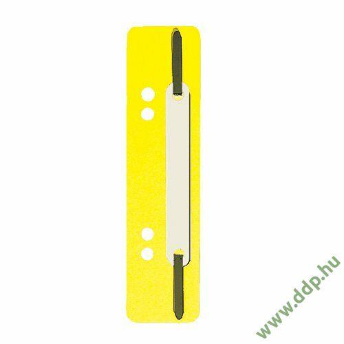 Gyorslefűzőcsík normál sárga (Kiszerelés: 25db/csm) Q-CONNECT -2012500210-