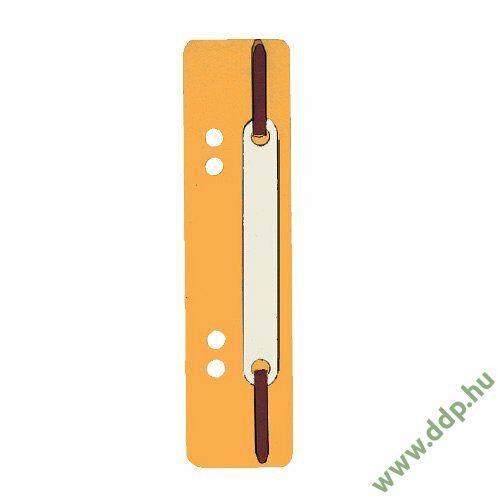 Gyorslefűzőcsík normál narancs (Kiszerelés: 25db/csm) Q-CONNECT -2012500610-
