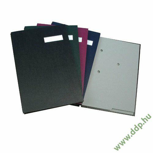 Aláírókönyv fekete Q-CONNECT -44051-04 / KF31014-