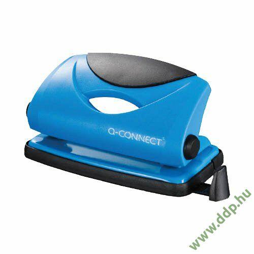 Lyukasztó Light duty 9014 kék Q-CONNECT 10 lapos -KF02153-