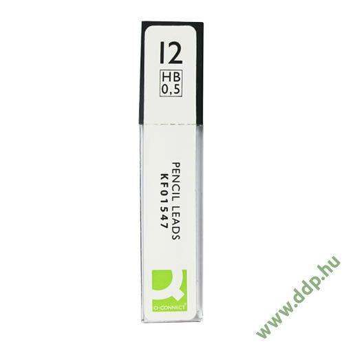 Irónbél HB 0,5mm KF01547 Nyomósirón betét Q-CONNECT