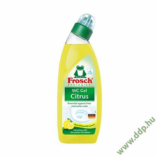 WC tisztító gél Frosch 750ml citrus